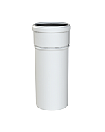 Cox Geelen CoxDens PP rookgaspijp Ø 80 x  250 mm wit