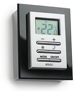 DRL E-Comfort Roundline Eco RF kamerthermostaat