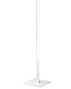 DRL E-Comfort Oasi terrasverwarmer alum. standaard wit