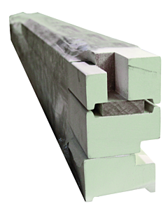 Hardhout deur kozijn set opdek gegrond 56 x 90 x 2380 mm FSC