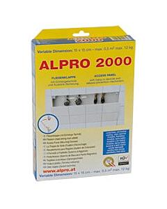 Alpro 2000 universeel inspectieluik