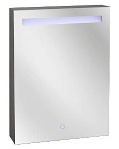 Best Design Aluma spiegelkast  60 x 80 cm met LED-verlichting