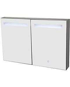 Best Design Aluma spiegelkast  80 x 60 cm met LED-verlichting