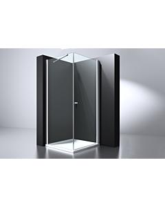 Best Design Erico cabine 4kant swing deur 100x100x200 nano glas 6 mm