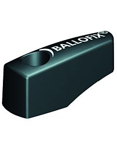 Ballofix hendel voor kogelafsluiter 18-28 mm zwart