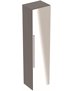 Geberit Icon hoge kast met spiegel 150 cm platina