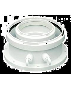 Bosch ketel rookgasadapter Celsius 80/110 concentrisch