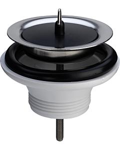 """Viega afvoerplug met stop 1.1/2"""" x Ø 80 mm H= 40 mm rvs/wit"""