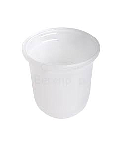 Geesa glas voor closetborstelgarnituur chroom