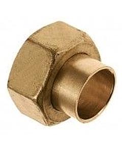 """Bonfix 2-delige koppeling 22 mm cap. x 1"""" bi.dr."""