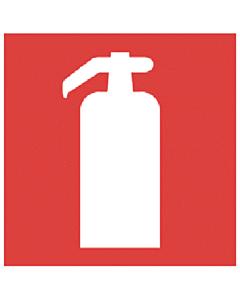 Ajax bord pictogram brandblusser 200 x 200 mm