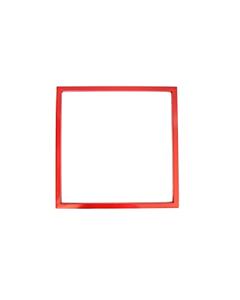 Ajax daglijst 500 x 500 mm verzinkt rood gecoat