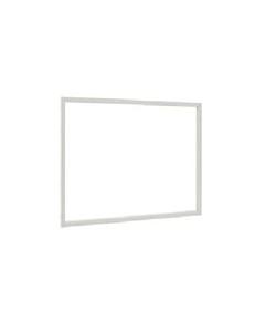 Ajax daglijst 790 x 1090 mm hoekprofiel wit
