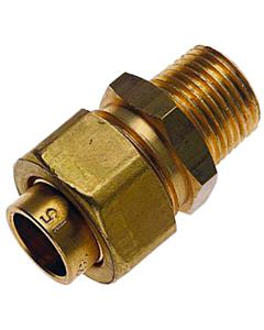 "Bonfix 3-delige koppeling 22 mm cap. x 3/4"" bu.dr. lang"