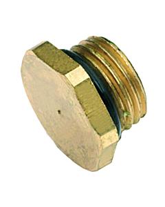 """Bonfix plug met ring voor stopkraan 1/4"""" 2 stuks"""