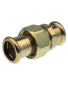 VSH Xpress 3-delige koppeling brons 28 mm pers