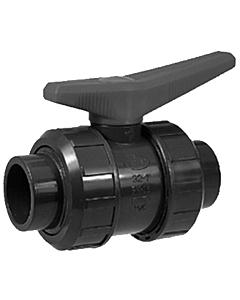 Akatherm kogelkraan met lijmsok en O-ring - 32 mm