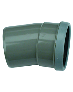 Wafix PVC bocht 15° 160 mm mof/spie