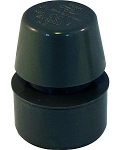 Sanit binnenhuisbeluchter ABS 50 mm spie