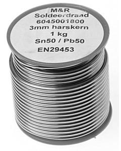 Draadsoldeer 50/50 3 mm 1 kg harskern