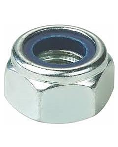 Borgmoer DIN 985 nylon ring verzinkt M10