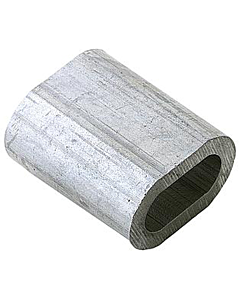 Kabelklem 3 mm alum. 10 stuks