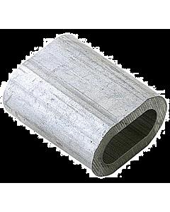 Kabelklem 4 mm alum. 10 stuks