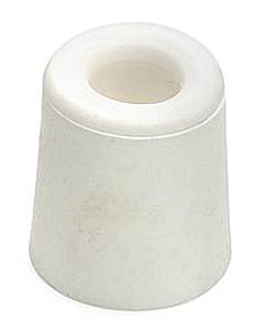 Deurbuffer rubber Ø 31 x 33 mm wit