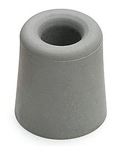 Deurbuffer rubber Ø 37 x 48 mm grijs