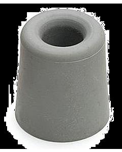 Deurbuffer rubber Ø 39 x 59 mm grijs
