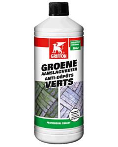 Griffon groene aanslagvreter fles 1 liter
