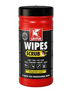 Griffon reinigingsdoek Scrub Wipes bus 75 stuks