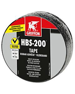 Griffon afdichtingstape HBS-200 20 cm rol 10 m zwart
