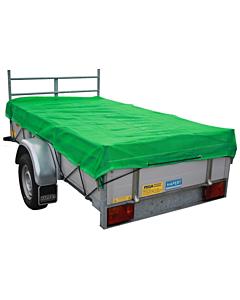 Loadlock aanhangwagennet fijnmazig groen 4 x 2.5 m