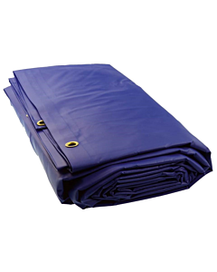 Loadlock dekkleed 130 IVANA blauw 2 x 3 m