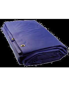 Loadlock dekkleed 130 IVANA blauw 3 x 4 m