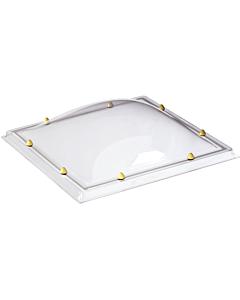 Skylux lichtkoepel 2W helder pmma/pmma 030 x 030 cm
