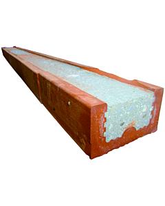 Baksteenlatei 6.5 x 10 x 240 cm