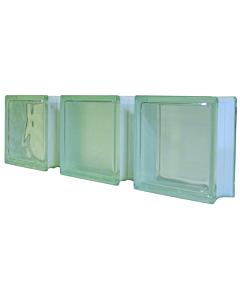 Glazen bouwsteen wolk 190 x 190 x 80 mm