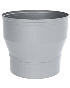 Burgerhout MiniDelta aansluitverloopstuk alum. Ø 180/150 mm