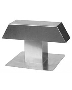 Anjo kabeldoorvoer alum. 120 x 120 mm dubbel