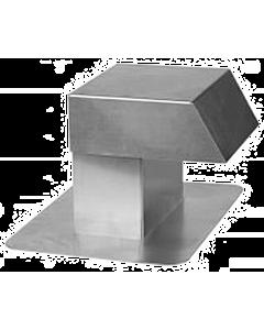 Anjo kabeldoorvoer alum. 125 x 250 mm enkel