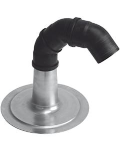 Anjo kabeldoorvoer alum. Ø 125 mm met 3 bochtstukken 45°