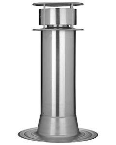 Anjo rookgas renovatieset conv. alum. Ø 100 mm met bovenkap