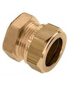 Bonfix eindkoppeling 22 mm knel