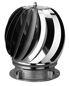 Anjo Aspirotor Super 2 ventilator rvs Ø 150 mm