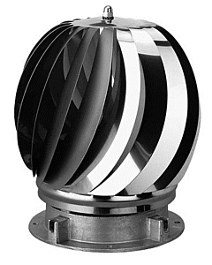 Anjo Aspirotor Super 2 ventilator rvs Ø 200 mm