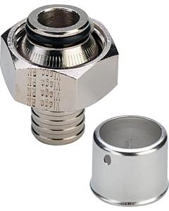 "Pexfit 2-delige koppeling 20 mm pers x G 3/4"" bi.dr. euroconus"