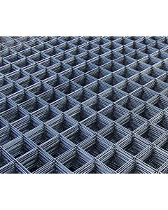Dynamic Way draadstaalmat 150 x 150 x 3 mm / 2.1 x 1,2 m