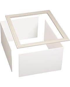 Ubbink Interieur afwerkrand plano 300mm wit